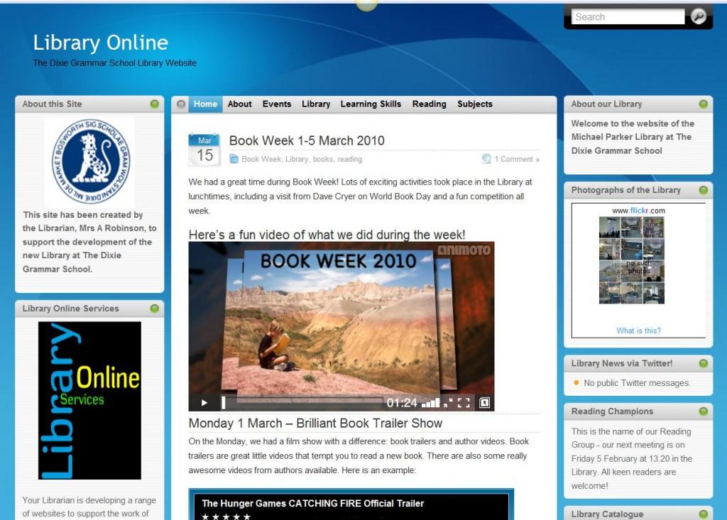 Dixie Grammar School's Library Online