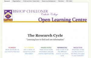 Bishop Challoner revision site