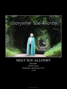 Storyteller Sue Allonby