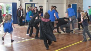 OBHS Harry Potter Eve 2015 Quidditch