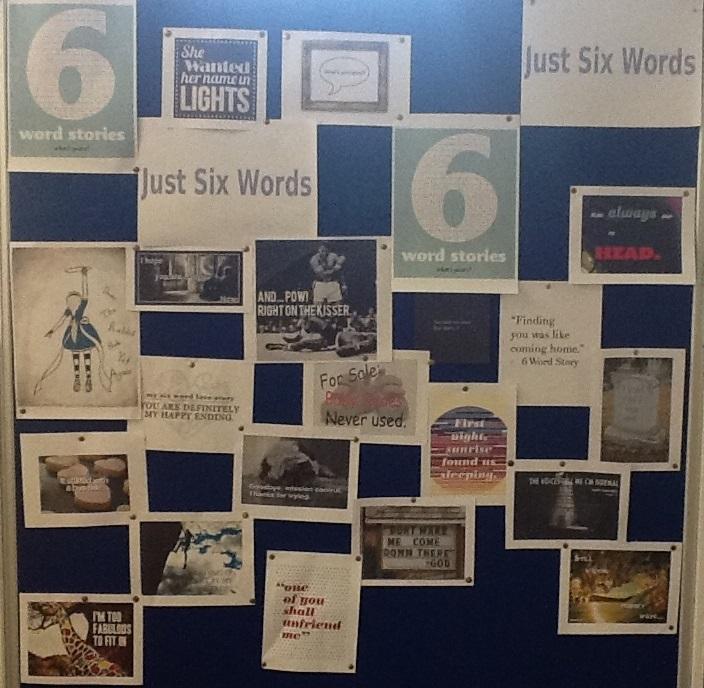 6 word storyboard